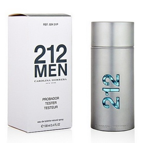 Carolina Herrera 212 Men edt 100 ml (m) tester
