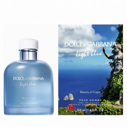 Dolce & Gabbana Light Blue Pour Homme Beauty of Capri 125 ml (м)