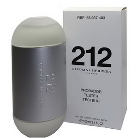 Carolina Herrera 212 edt 100 ml (w) tester