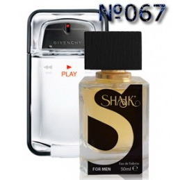 Духи SHAIK №067 - GIVENCHY Play Men 50ml