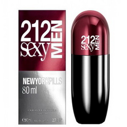 Carolina Herrera 212 Sexy Men Pills EDT 80ml