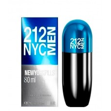 Carolina Herrera 212 NYC Men Pills EDT 80ml