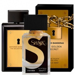 Духи SHAIK №007 - ANTONIO BANDERAS The Golden Secret 50ml Men