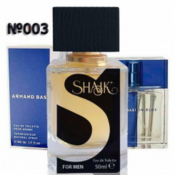 Духи SHAIK №003 - ARMAND BASI In Blue Men 50ml