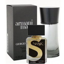 Духи SHAIK №055 - ARMANI Mania Men 50ml